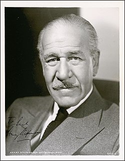 Henry Stephenson British stage and film actor