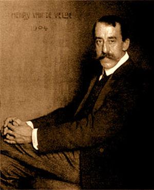 Henry van de Velde - Henry van de Velde; portrait by  Nicola Perscheid (1904)