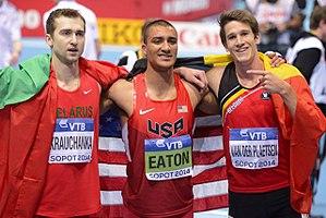 2014 IAAF World Indoor Championships – Men's heptathlon - The medalists