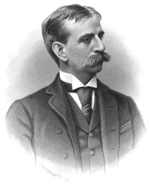 Herbert W. Ladd - 1891 Engraving