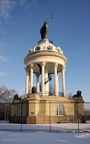 Hermann Heights Monument - Hermann Heights Monument in 2013