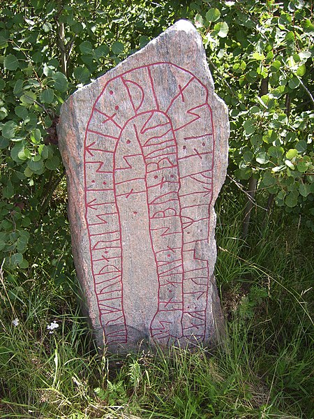 Fájl:Herstaberg, The Kvillinge parish. Runestone Ög 47, Sweden, 15 July 2007, picture 2.jpg