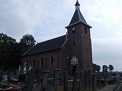 Hervormde kerk en toren in Westerlee - 3.jpg