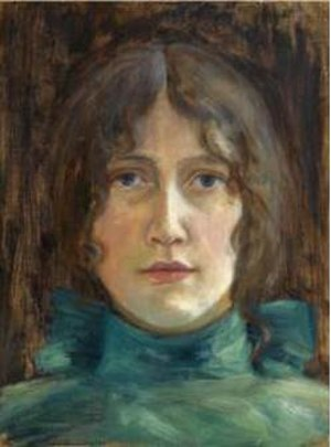Tupsy Clement - Tupsy Clement (1890), portrait by Hans Heyerdahl.