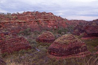 Hidden Valley National Park - Sandstone formations at Hidden Valley National Park