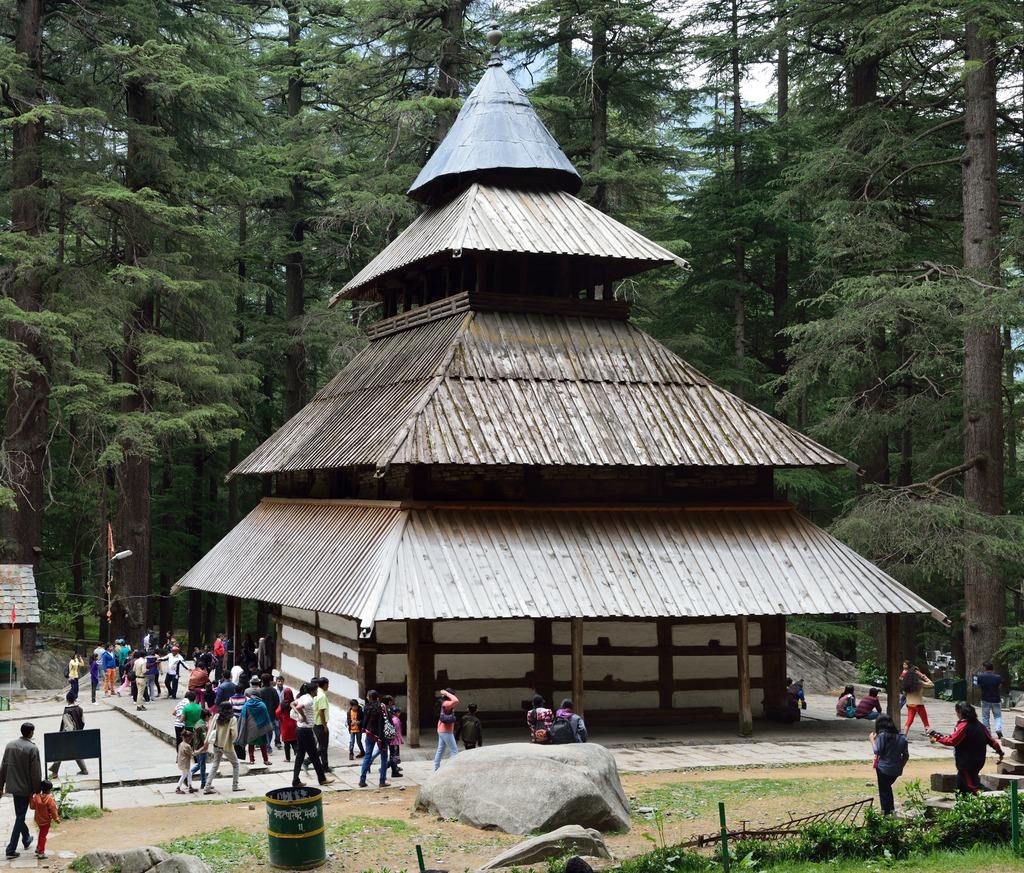 Hidimba Devi Temple, North-east View