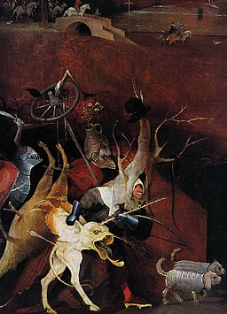 Hieronymus Bosch - Triptych of Temptation of St Anthony (detail) - WGA2588
