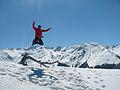 Hiker in the top of mountain.JPG