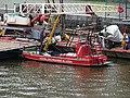 Hořejší nábřeží, člun vodní záchranné služby.jpg