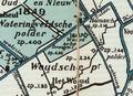 Hoekwater polderkaart - Woudsche Droogmakerij.PNG