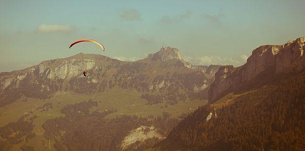 Hoher Kasten mountain in Switzerland