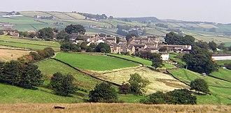 Holme, West Yorkshire - Image: Holme Village