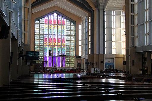 Holy Family basilica (Nairobi, Kenya) - interior