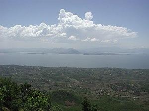 Homa Bay, on Winam Gulf, Lake Victoria, Kenya;...