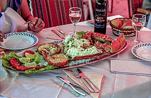 Croatian cuisine - Lobster from Dalmatia