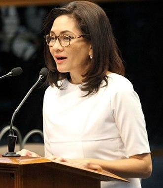 2016 Philippine Senate election - Image: Hontiveros in 2016