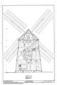 Hook Windmill, North Main Street at Pantigo Road, East Hampton, Suffolk County, NY HAER NY,52-HAMTE,2- (sheet 4 of 6).png
