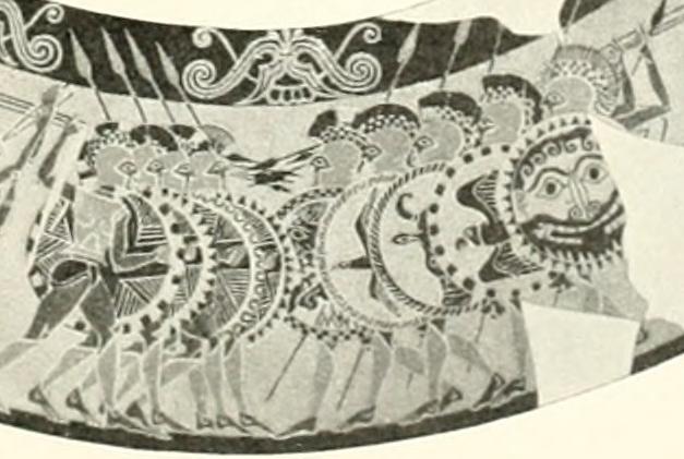 Hoplites Chigi Vase