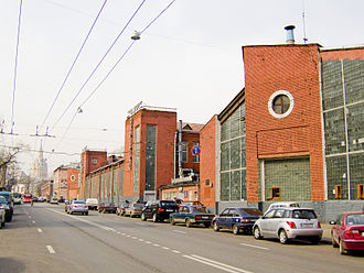 Novo-Ryazanskaya Street Garage - Western tip of the horseshoe, 2007 photograph