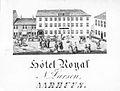 Hotel Royal, Store Torv (Ukendt) 1849.jpg