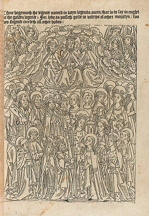 Golden Legend - Illustration for Golden Legend, 1493