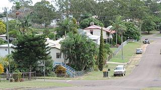 Mount Larcom, Queensland Town in Queensland, Australia