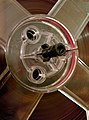Hub of a spool with magnetic tape (16266930293).jpg