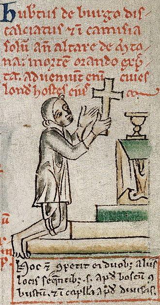 Hubert de Burgh, 1st Earl of Kent - Image: Hubert de Burgh Paris