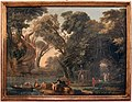 Hubert robert, capriccio con approdo, 1750-1800 ca.jpg