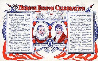 Hudson-Fulton Celebration - Hudson-Fulton Celebration Program