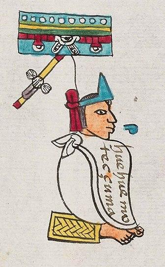 Ο αυτοκράτορας Μοντεζούμα