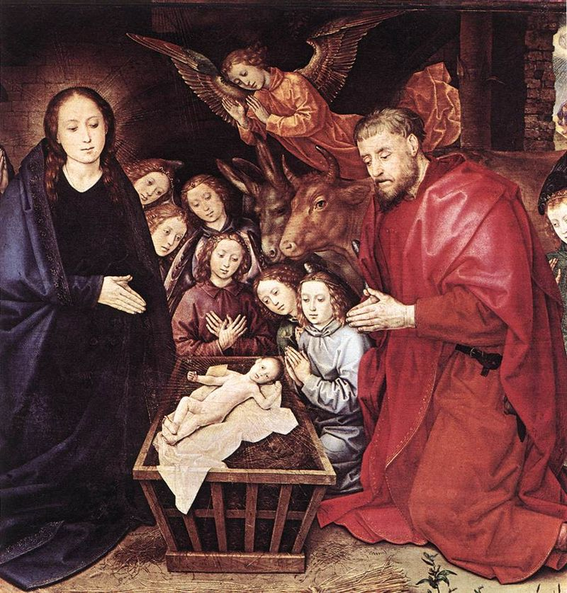 Hugo van der Goes - Adoration of the Shepherds (detail) - WGA9645.jpg
