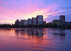 Skyline of the Hull region in Gatineau