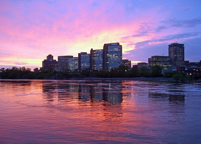 Gatineau Sunset by https://en.wikipedia.org/wiki/en:User:Adam2288