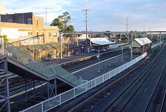 Hurlstone Park, New South Wales - Hurlstone Park Railway Station