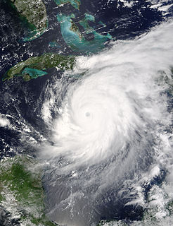 Effects of Category 5 Atlantic hurricane of 2004