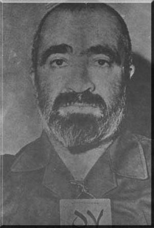 Hussein-Ali Montazeri - Hussein-Ali Montazeri in Evin prison