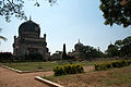 Hyderabad india qutb shahi tombs courtyard.jpg