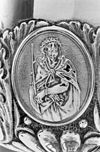 interieur, medaillon op cuppa van ciborie - arnhem - 20305050 - rce