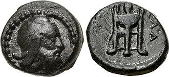 Klazomenai - Coinage of Achaemenid satrap Tiribazos, 388-380 BC. Klazomenai mint.
