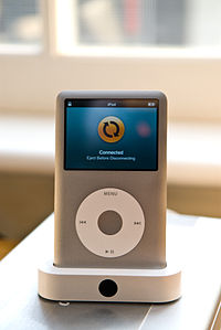 Released in 2001 as a portable music player, iPod evolved into a small ...