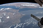 ISS-56 Portugal wildfires and Strait of Gibraltar.jpg