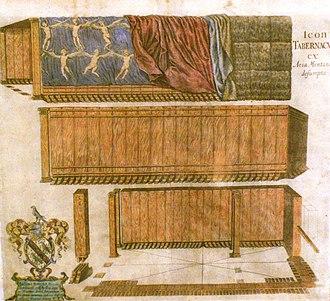 Thomas Fuller - Image: Icon Tabernaculi ex Aria Montano desumpta
