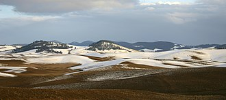 Idaho - The Palouse region of north central Idaho
