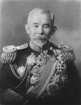 Ijuin Gorō - Japanese Admiral Baron Ijūin Gorō
