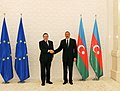 Ilham Aliyev and President of the European Commission Jose Manuel Barroso held a one-on-one meeting 3.jpg
