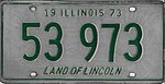 Illinois 1973 license plate - Number 53 973.jpg