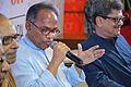 Imdadul Haq Milon Discusses - Epar Bangla Opar Bangla Sahityer Bhasa Ki Bodle Jachhe - Apeejay Bangla Sahitya Utsav - Kolkata 2015-10-10 5043.JPG