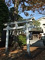 Inari Shrine (稲荷神社) in Mitsumine Shrine (三峯神社) - panoramio.jpg