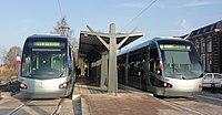Inauguration de la branche vers Vieux-Condé de la ligne B du tramway de Valenciennes le 13 décembre 2013 (109).JPG